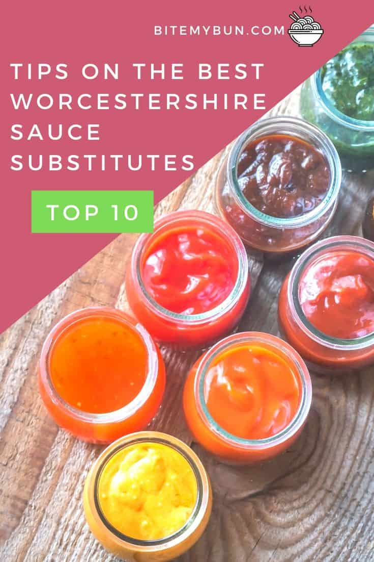 Tips on the best Worcestershire sauce substitutes