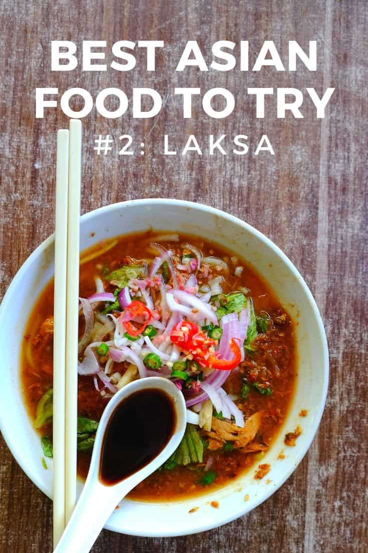 A bowl of Asian assam laksa