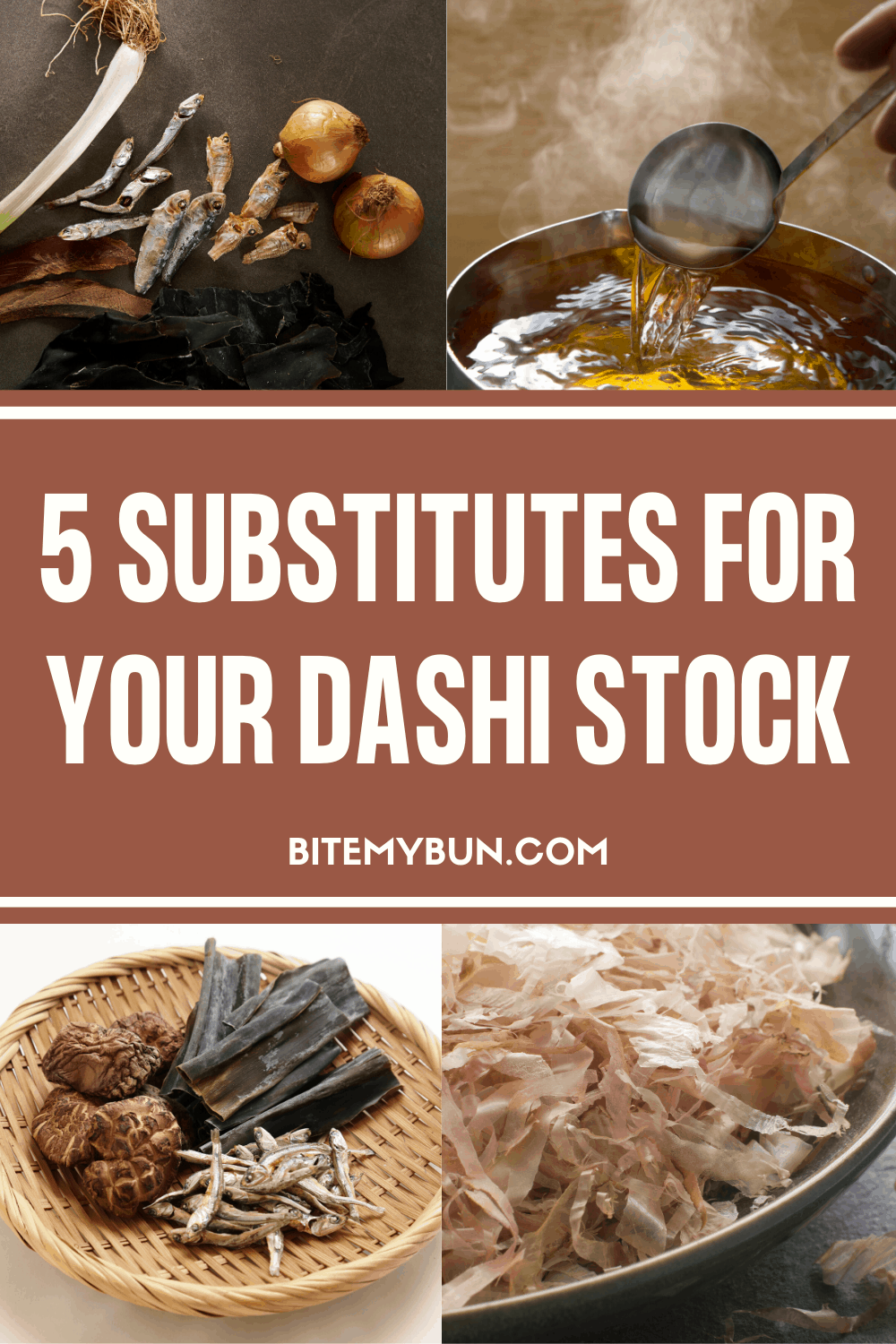5 Dashi Stock Substitutes