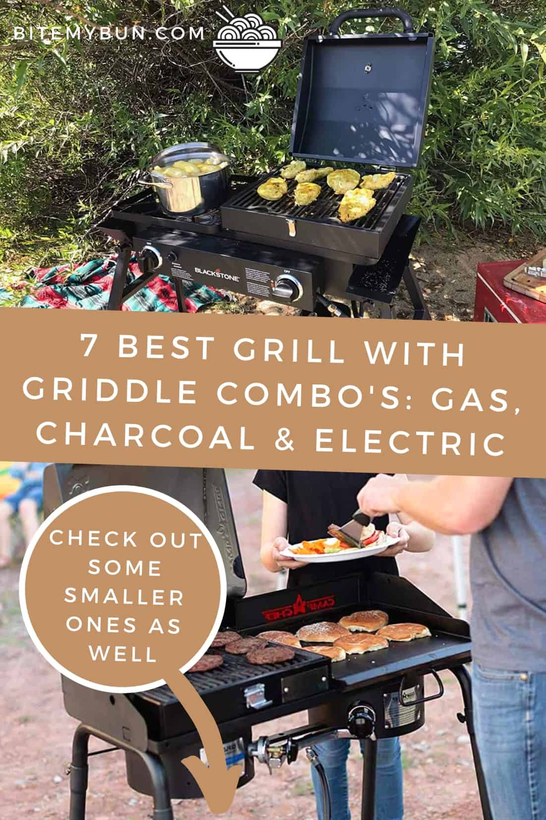 7 Best Grill with Griddle Combo's: Gas, charcoal & electric