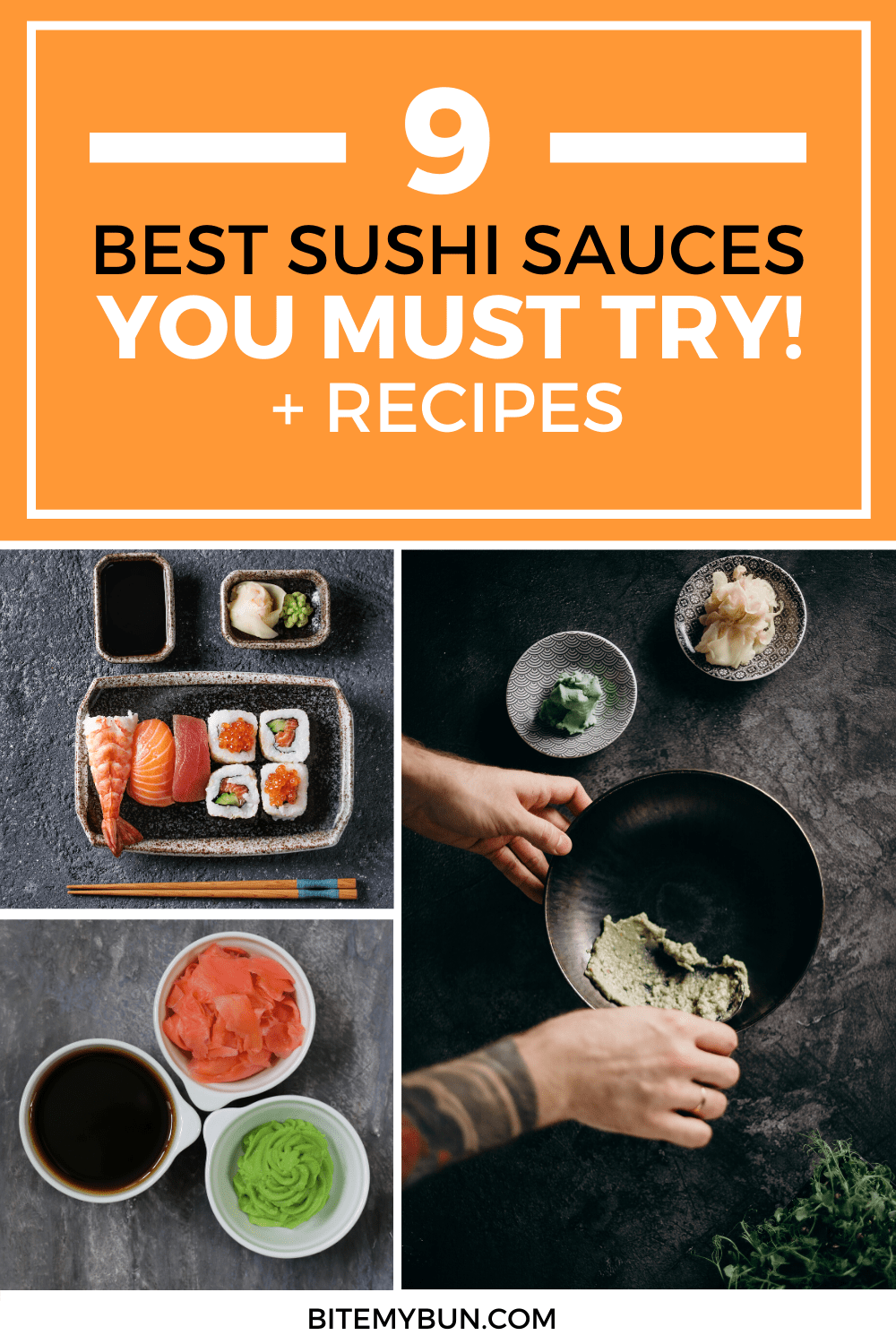9 Best Sushi Sauces Recipes you must try