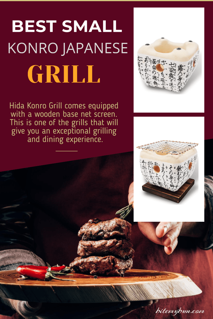 Hida Konro Grill is the best small konro grill