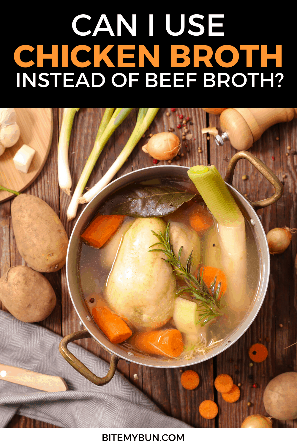 Chicken and Beef Broth uses