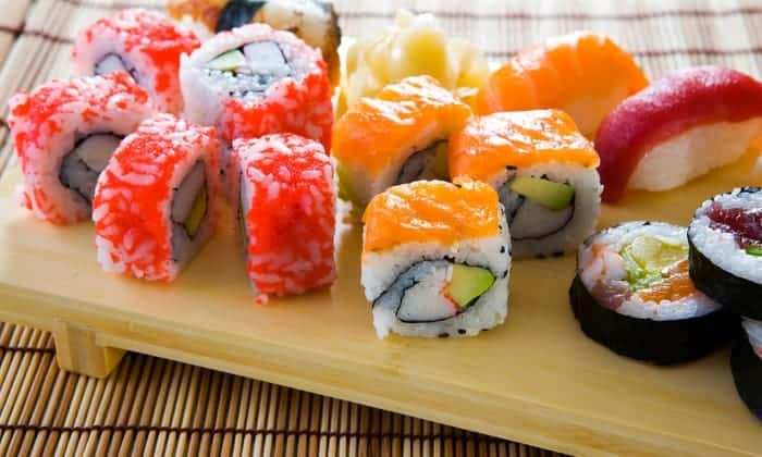 Few kinds of sushi