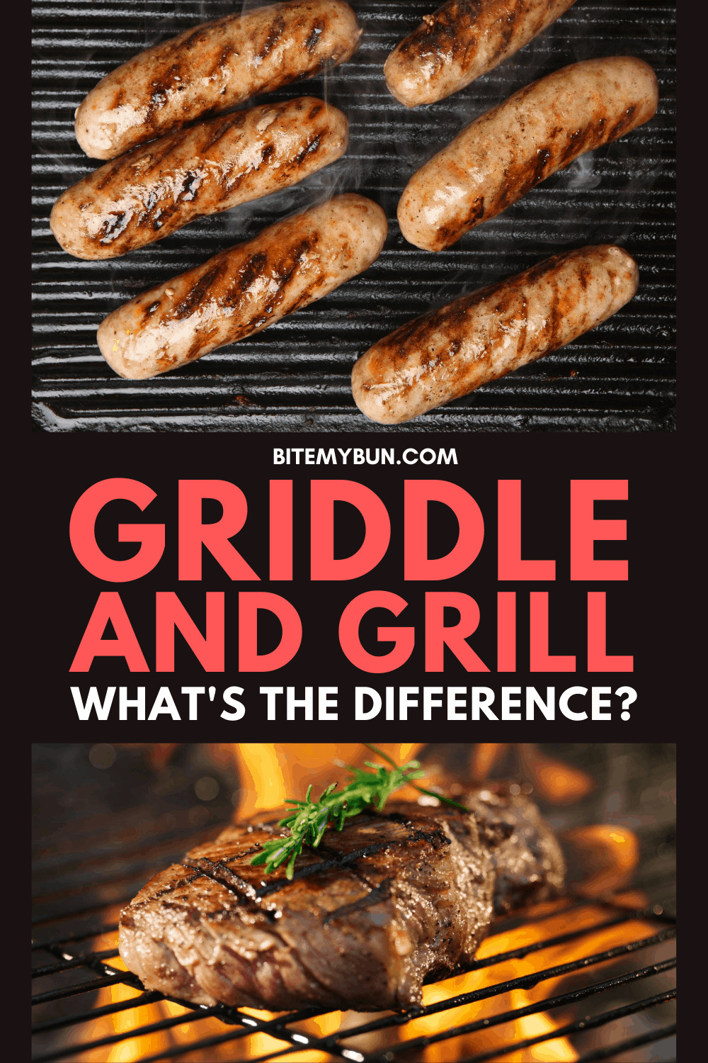 Griddle and grill whats the differene