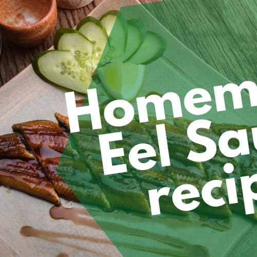 Homemade Eel Sauce recipe