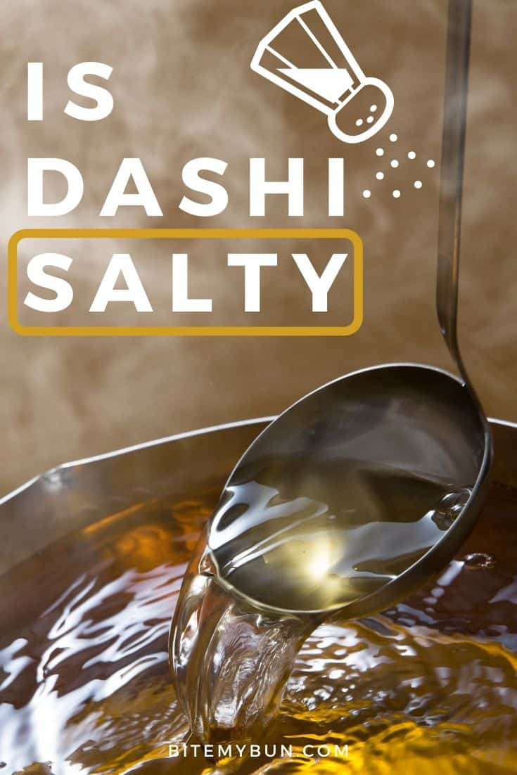 Is dashi salty