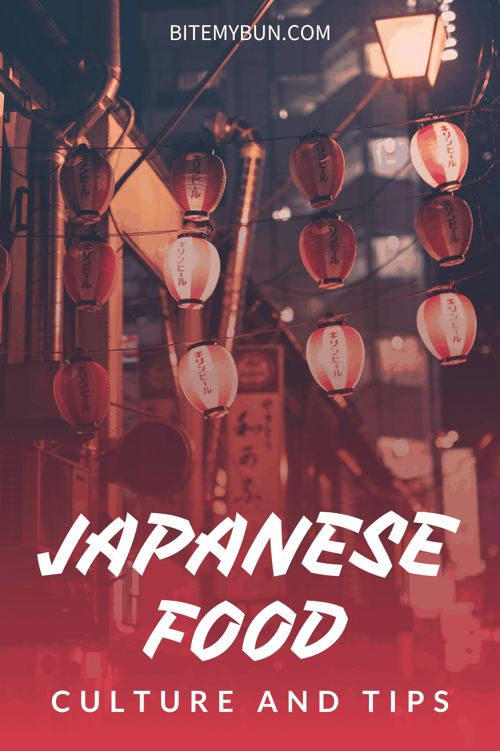 Japanese Food Culture and Tips