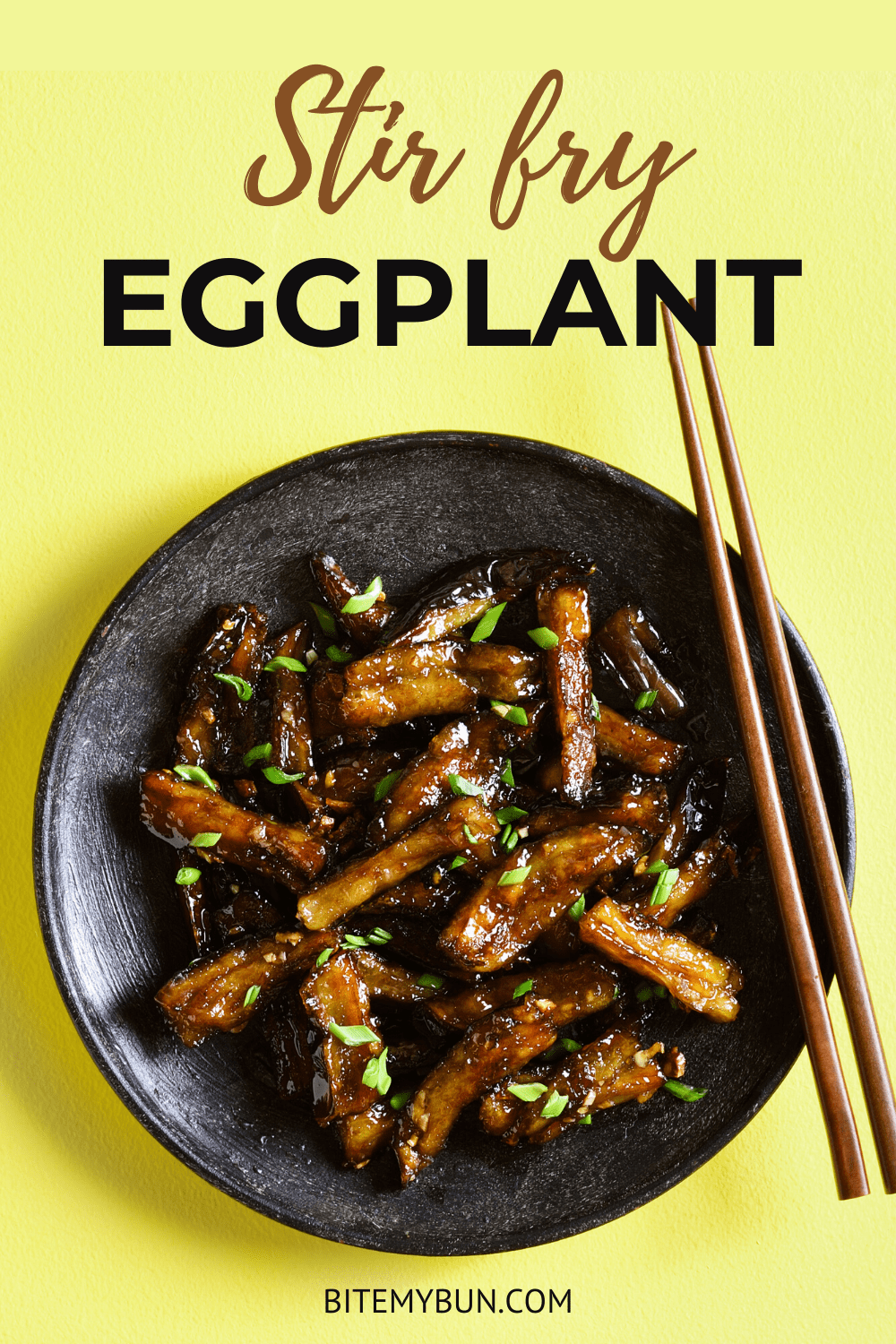 Stir Fry Eggplant Recipes