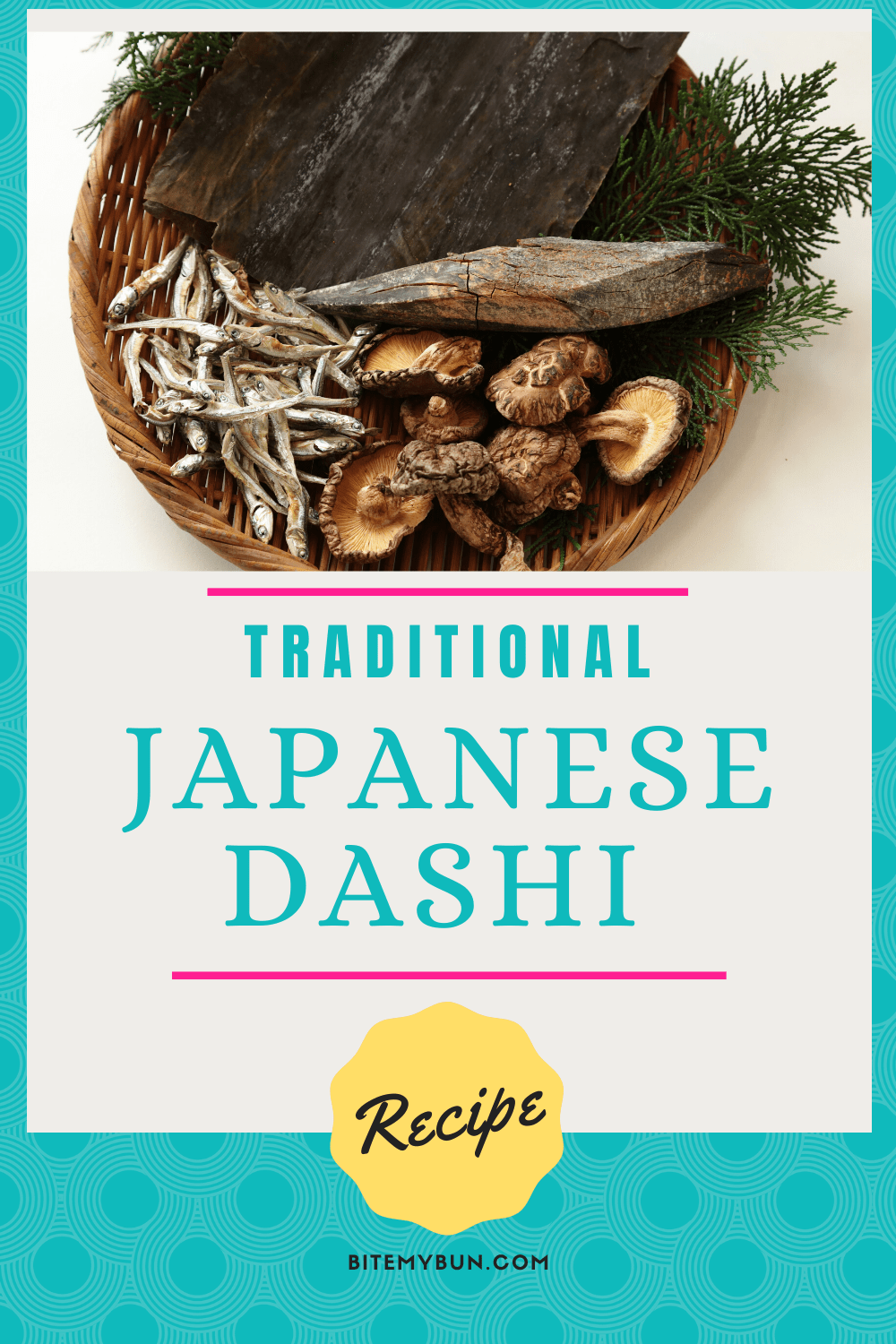 Homemade japanese Dashi Recipe
