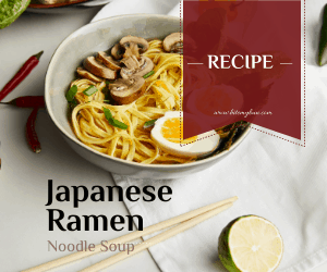 8 Different Types of Japanese Noodles with Recipes
