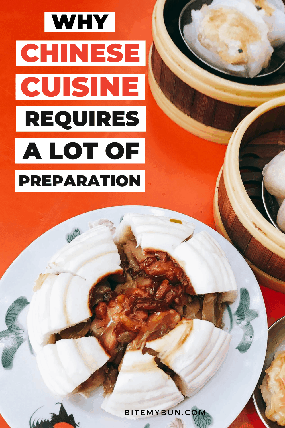 Why Chinese requires a lot of preparation