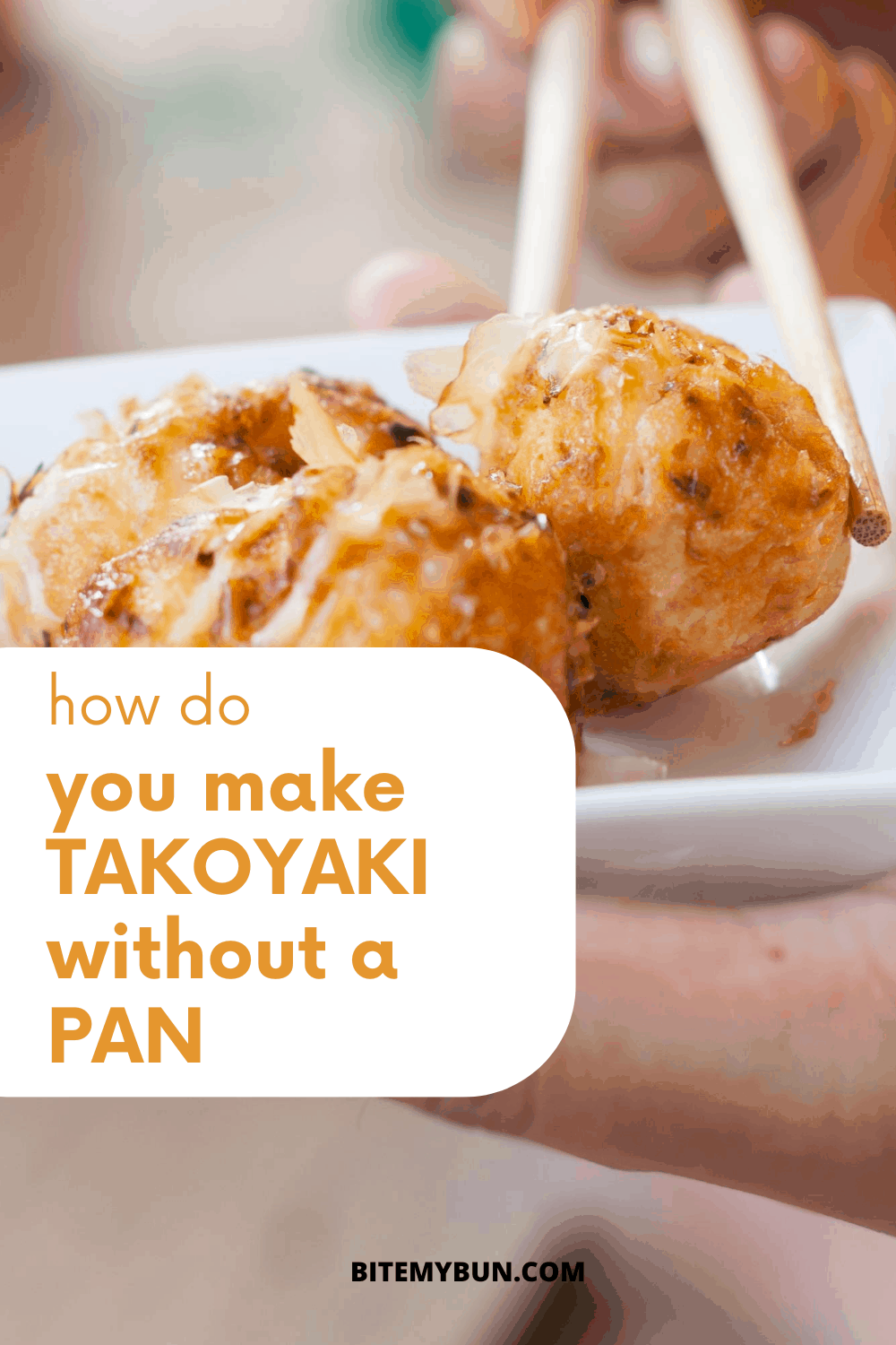 How do you make takoyaki without a pam