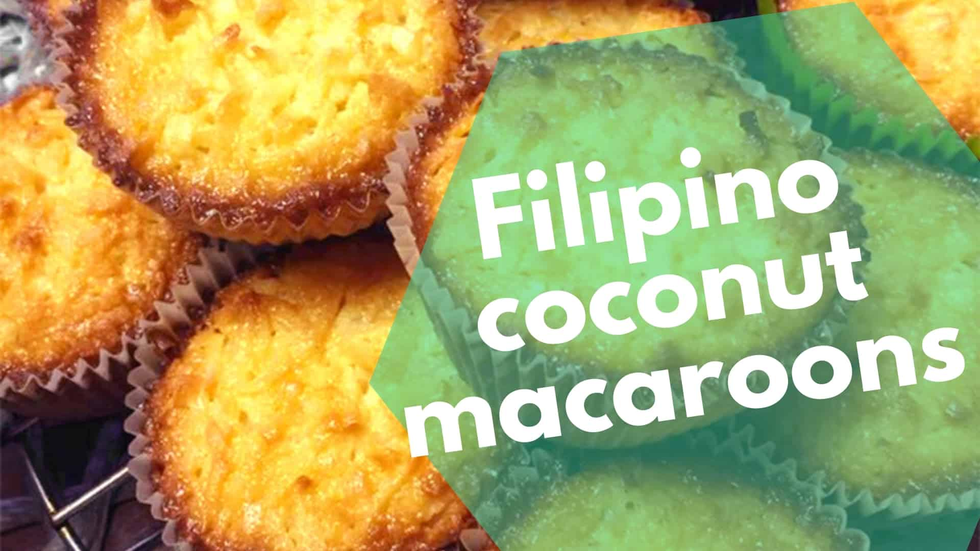 Coconut Macaroons Recipe Homemade Filipino Style Delicacy
