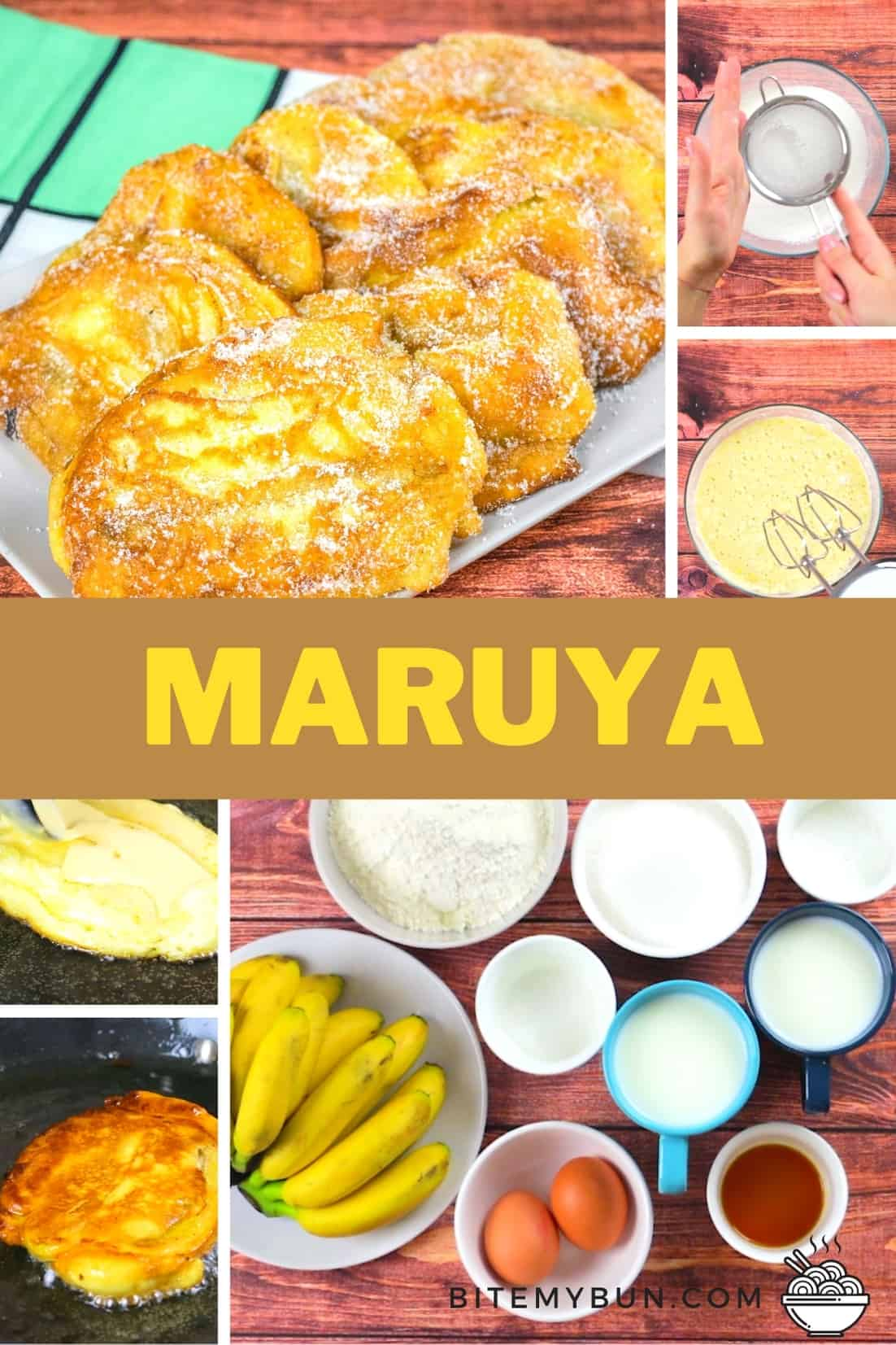 How to make delicious maruya banana fritters