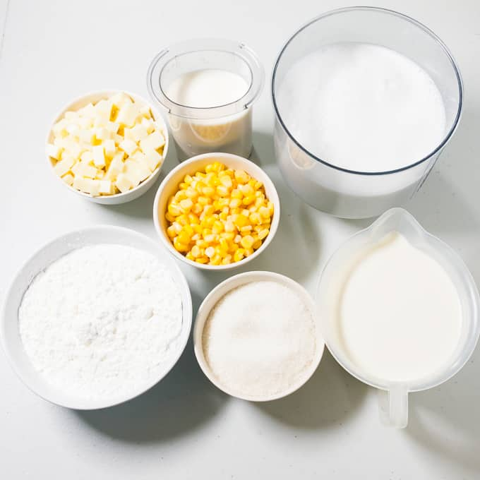 Maja Blanca Ingredients
