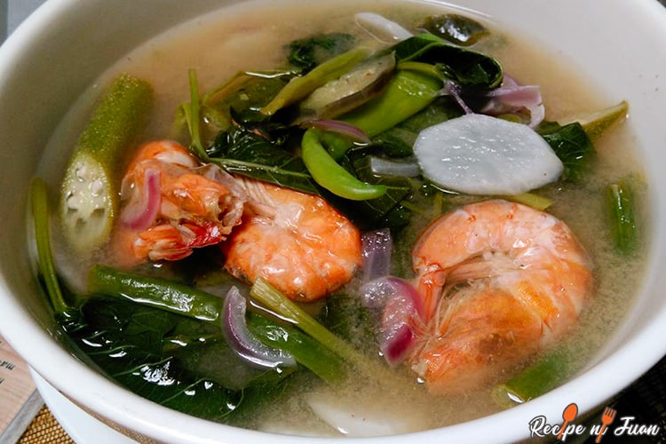 Sinigang Na Hipon Sa Sampalok Recipe