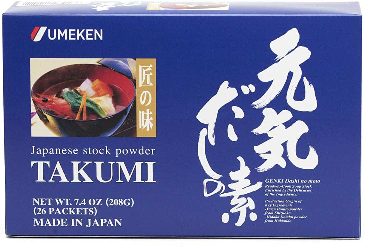 Umeken Takumi kelp based broth