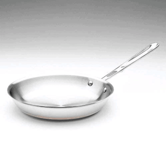 Best Stainless Steel Copper Frying Pan: All-Clad SS Copper Core