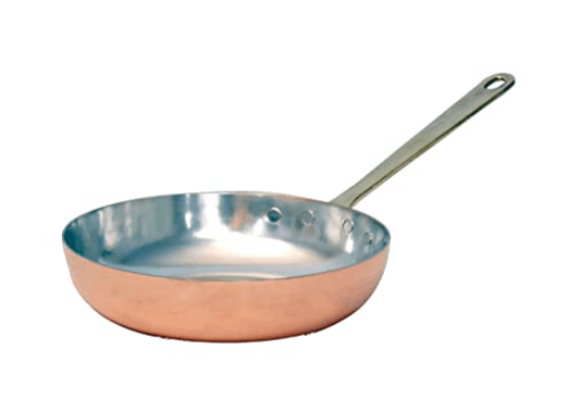 hand made copper pan