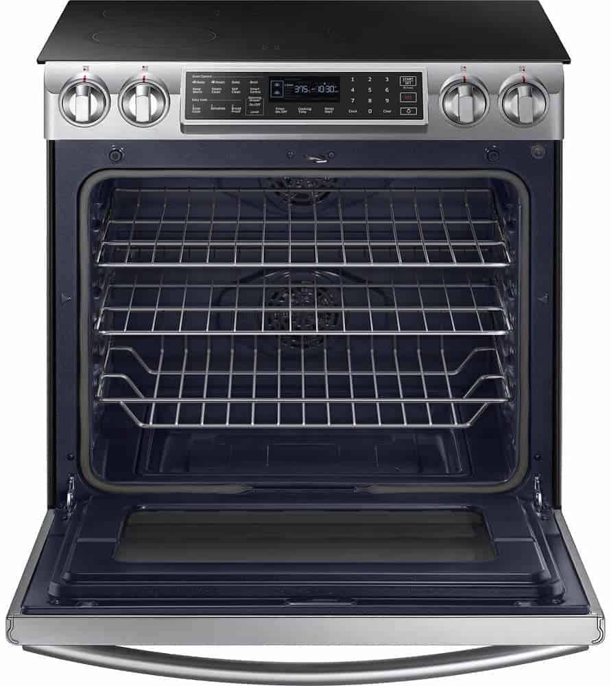 Best Budget Slide-In induction range: Samsung NE58K9560WS