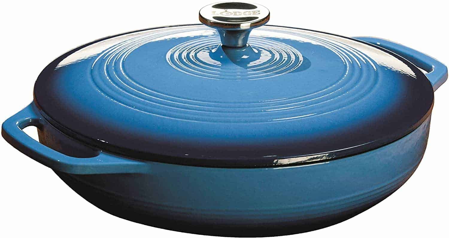 Best Enamel Casserole Dish: Lodge