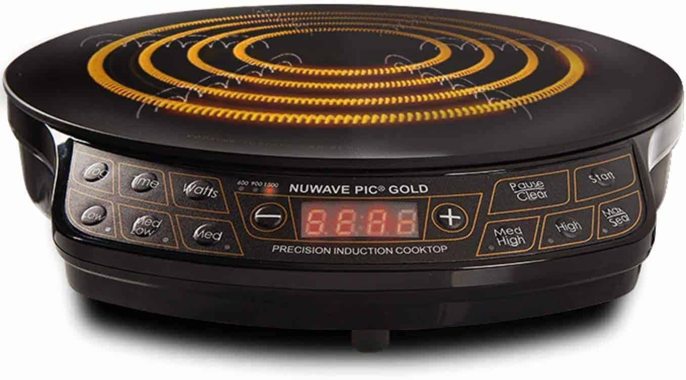 Best Induction Cooktop for Home Chefs: NuWave 1300w