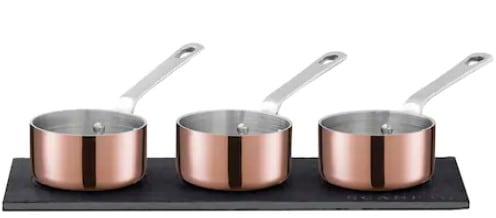 Best Mini Copper Cookware Set: Scanpan Maitre D'