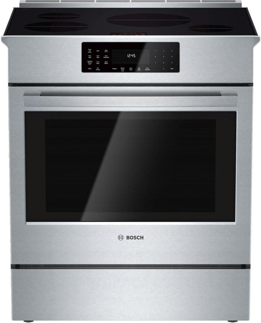 Best Overall Slide-In induction range: Bosch HEI8056U
