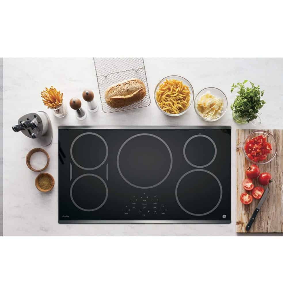 Best Overall induction Cooktop: GE Profile PHP9036SJSS