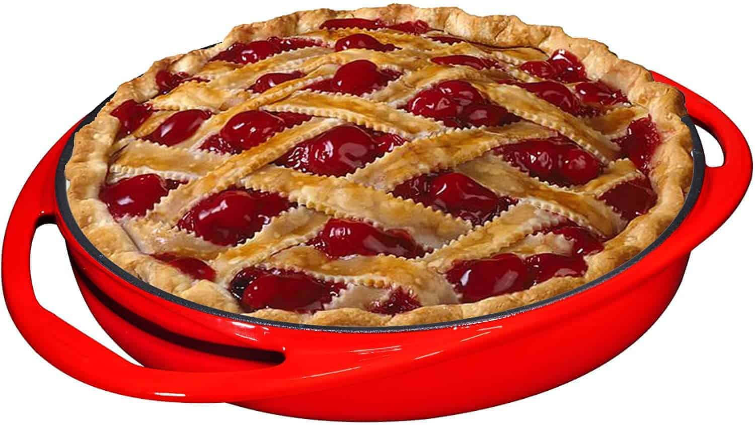 Best enamel Pie Baking Pan: Bruntmor Tarte Tatin dish