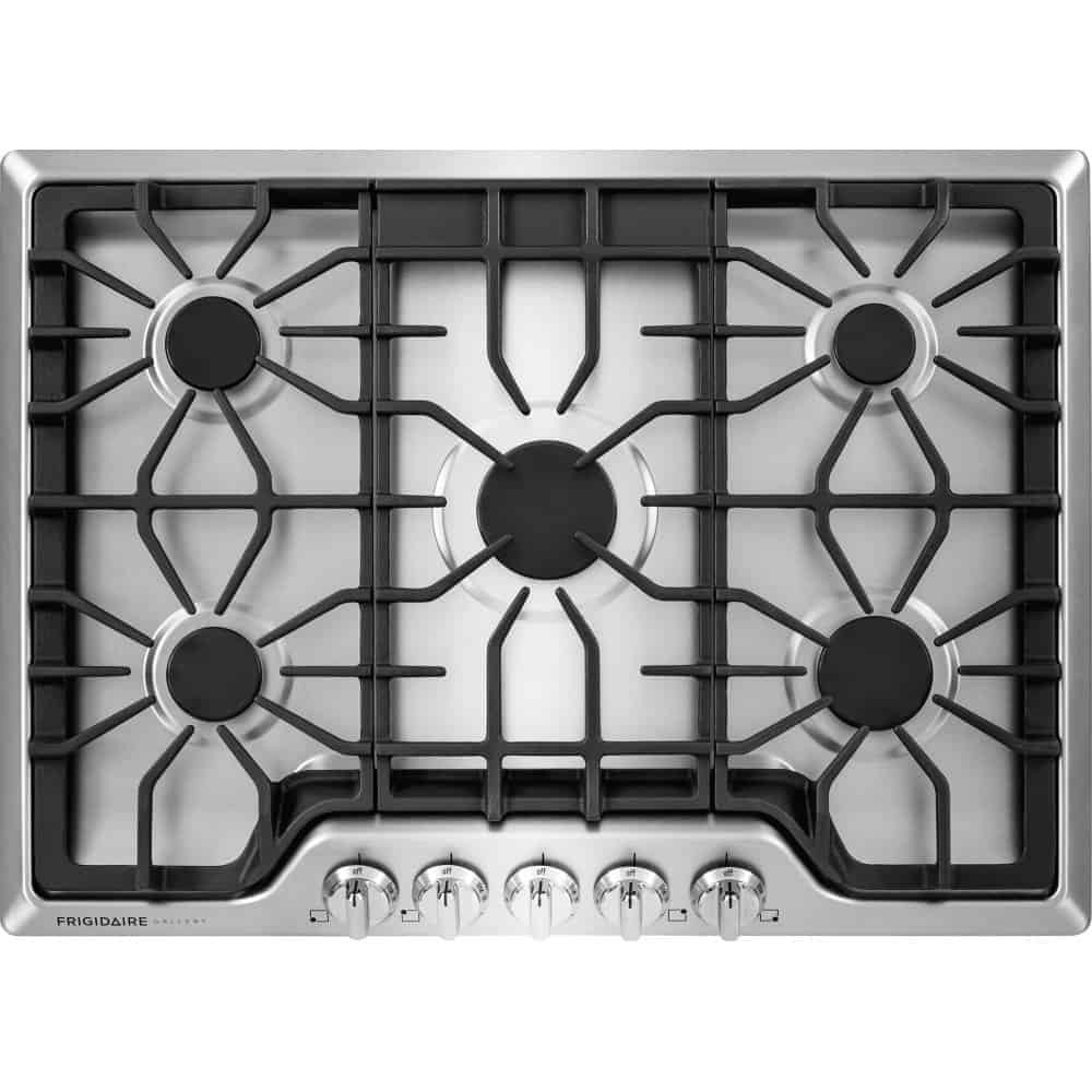 Best overall gas cooktop: Frigidaire FGGC3047QS Gallery 30