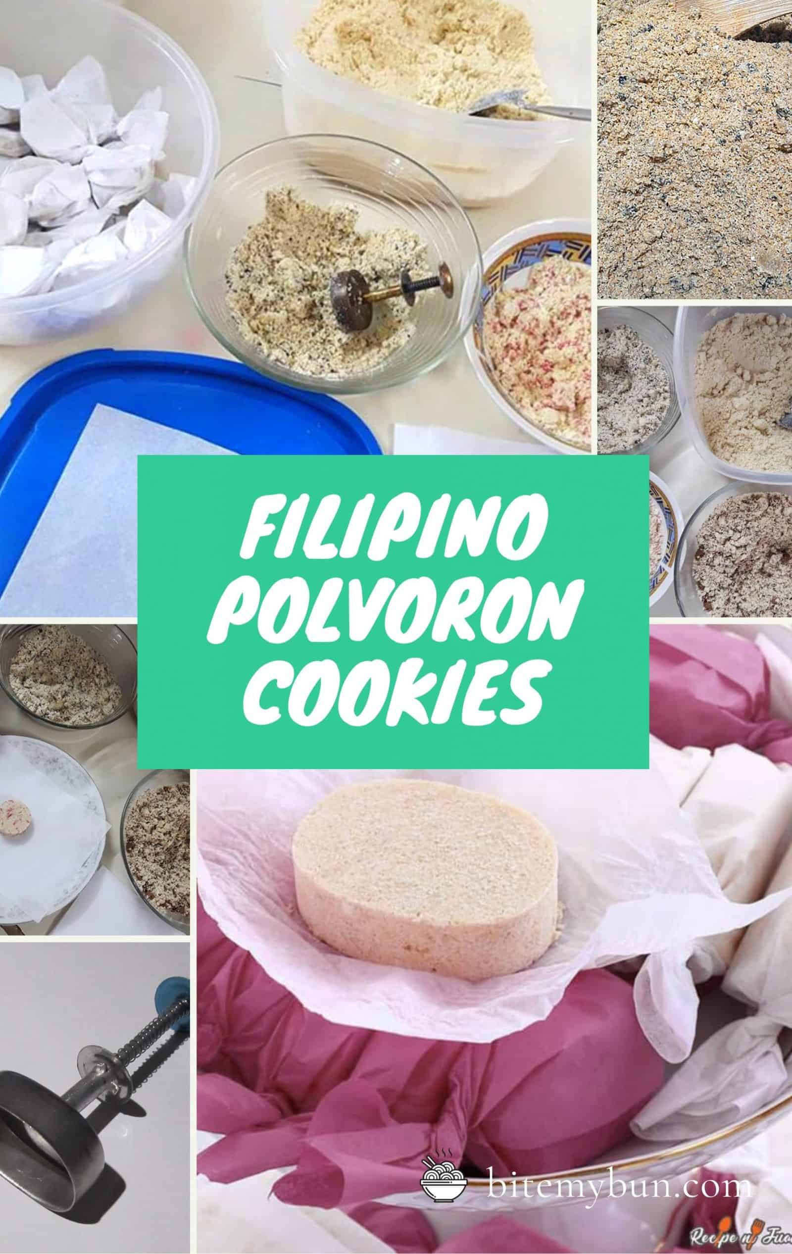 Filipino polvoron cookies