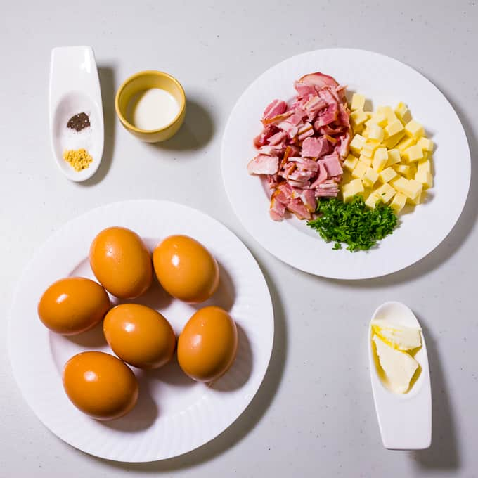 Pinoy Omelet Ingredients