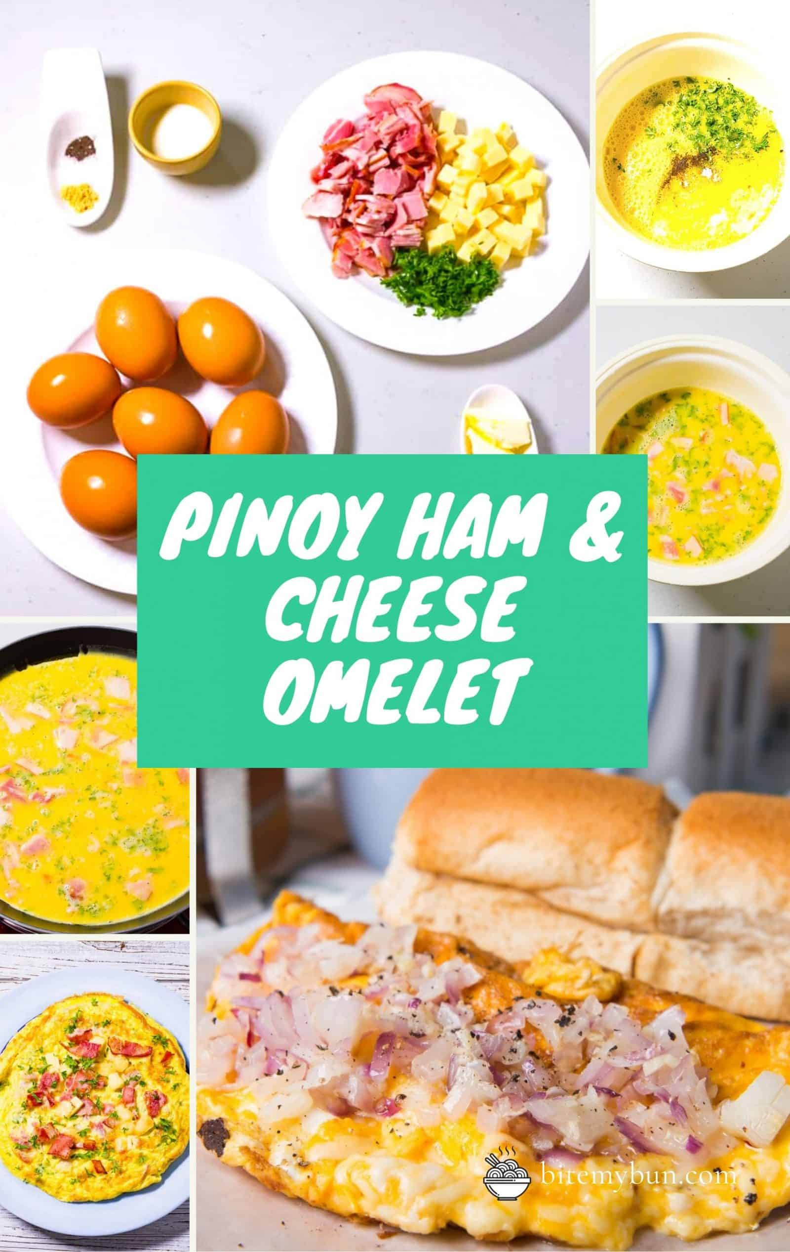Pinoy ham & Cheese Omelet