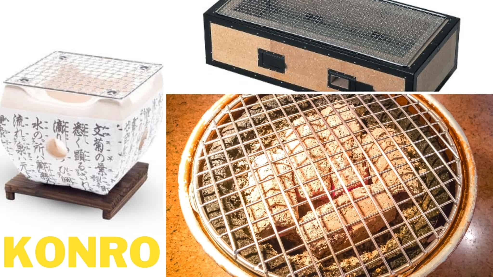 5 best Konro grills reviewed & how to use Japanese Charcoal Grills