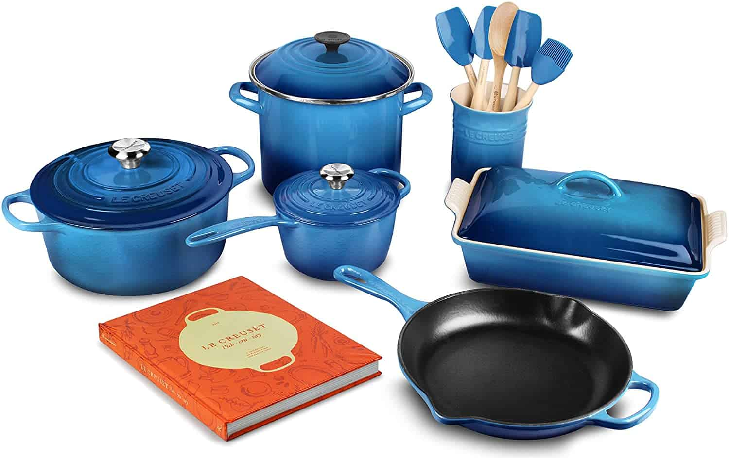 Best cast-iron induction cookware set: Le Creuset
