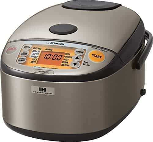 Best induction rice cooker: Zojirushi NP-HCC10XH