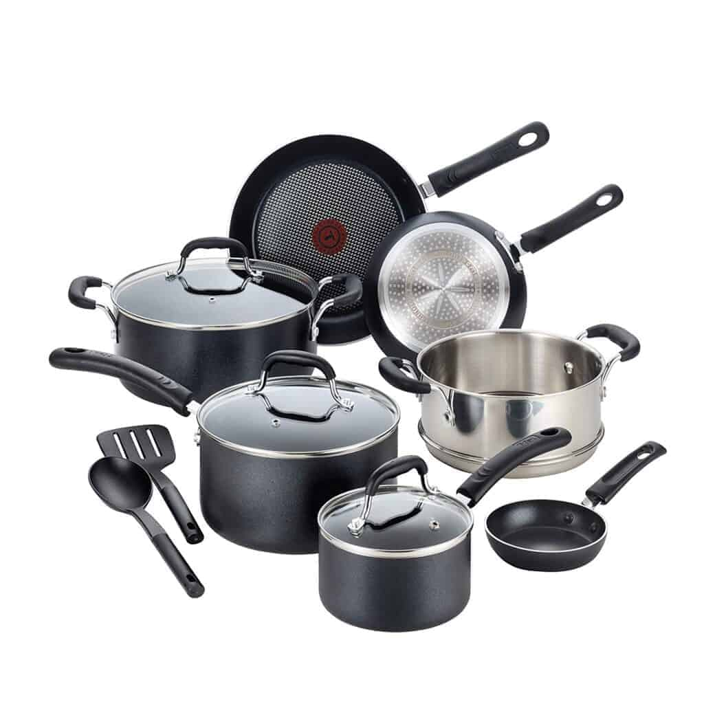 Best induction set: T-Fal Professional Induction Base cookware set