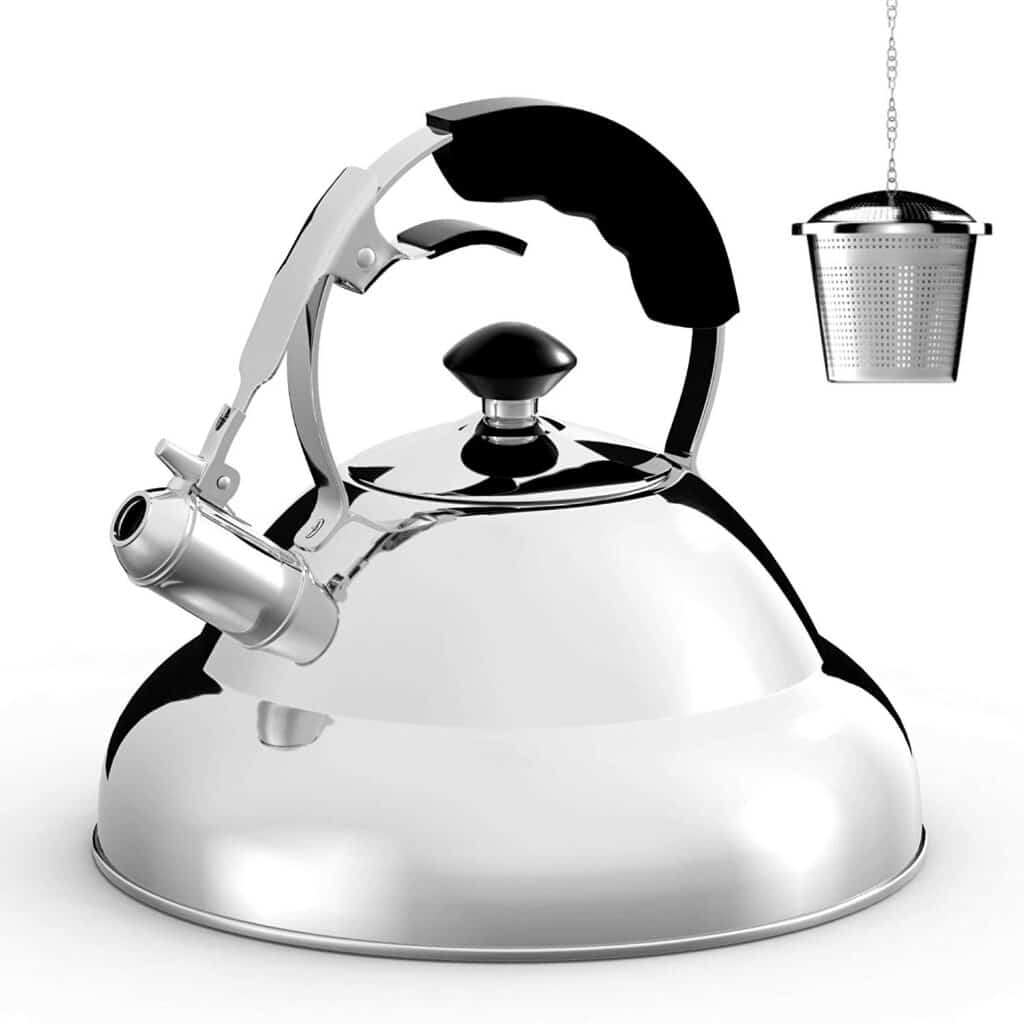 Best induction tea kettle: Willow & Everett
