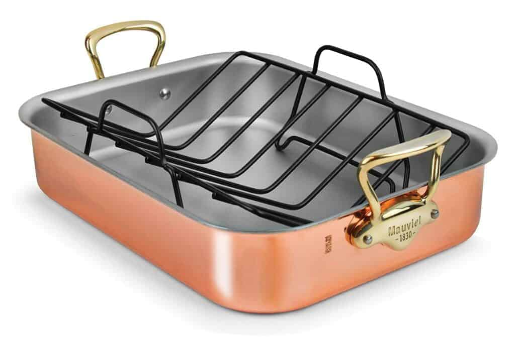 Mauviel Copper Roaster with Rack