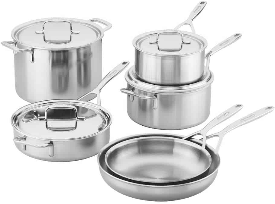 Most durable stainless steel pan set for induction: Demeyere