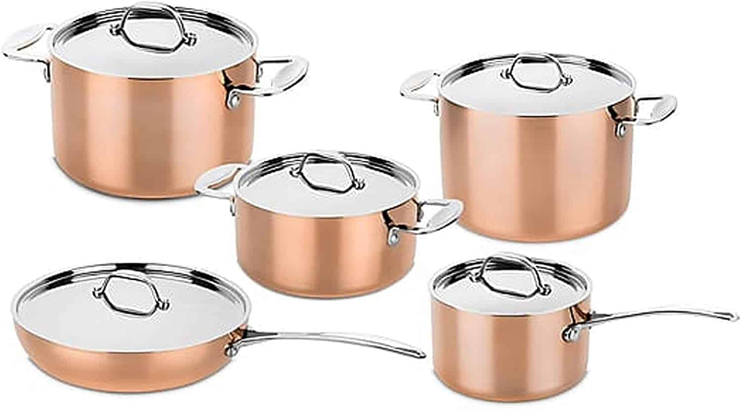 Best copper pan set: Mepra cookware-set