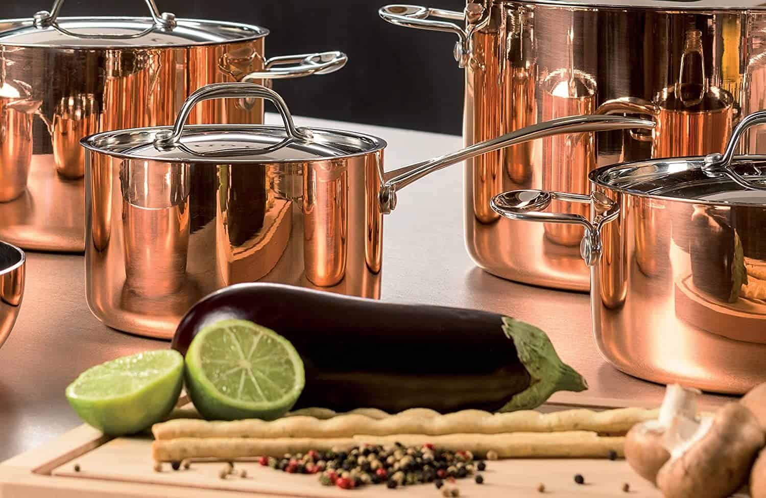 Best copper saucepan: Mepra Toscana