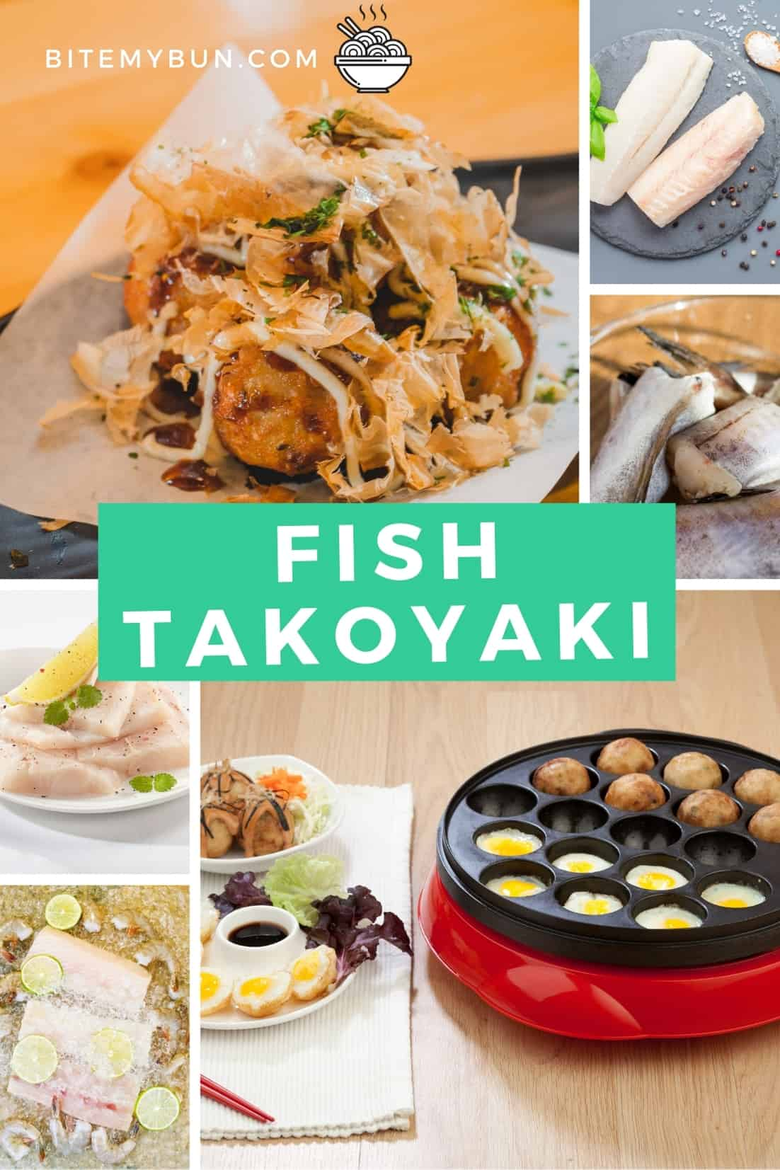 Best white fish to use for takoyaki