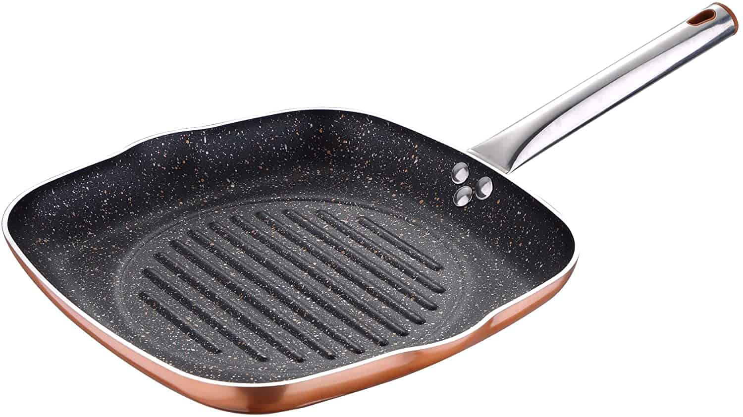 Cheap copper look grill pan: Bergner Eclipse