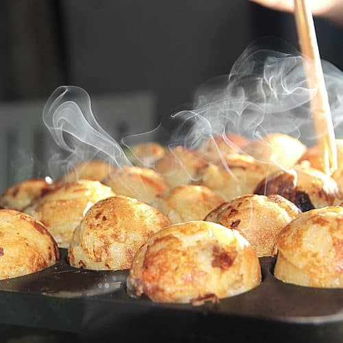 Filipijns Takoyaki-recept