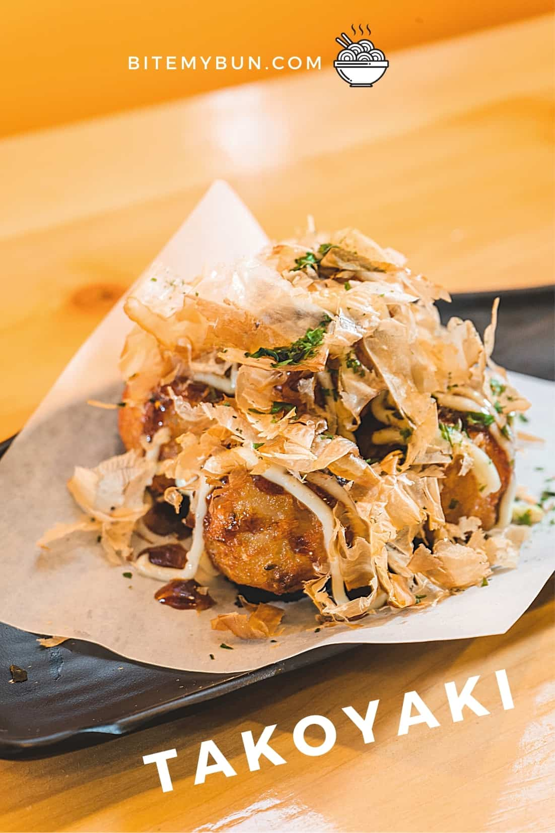 Fish takoyaki with cod
