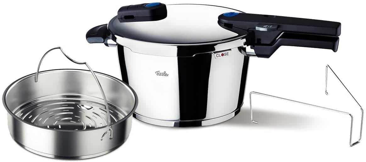 Fissler stainless steel pressure cooker