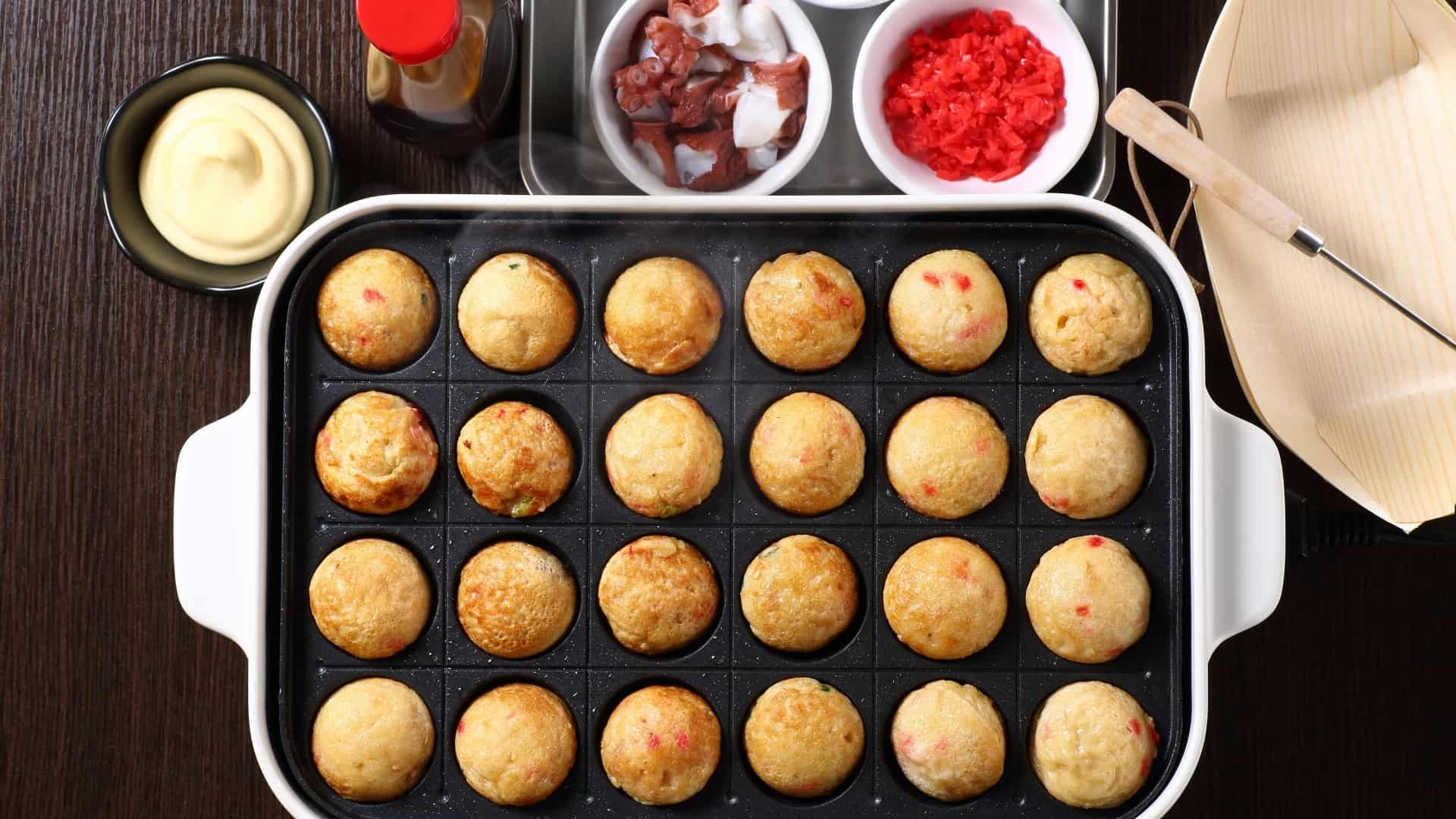 How to clean your takoyaki maker